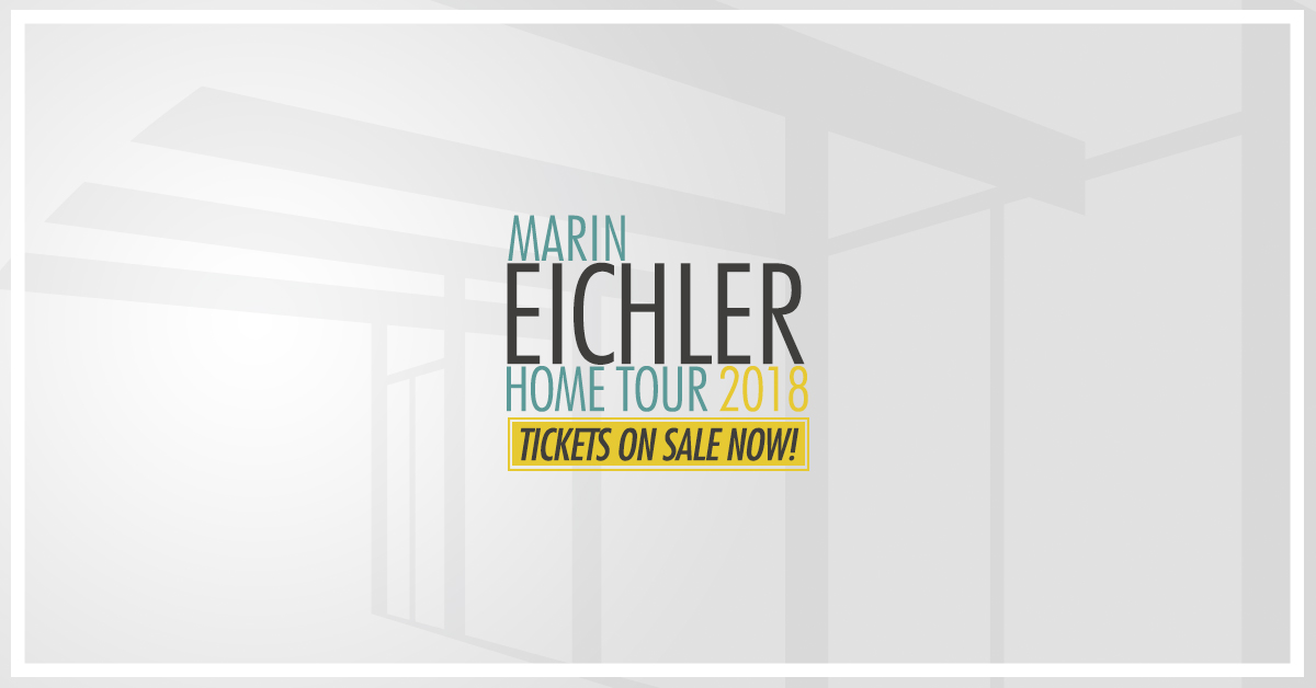 Eichler Home Tour in Marin County