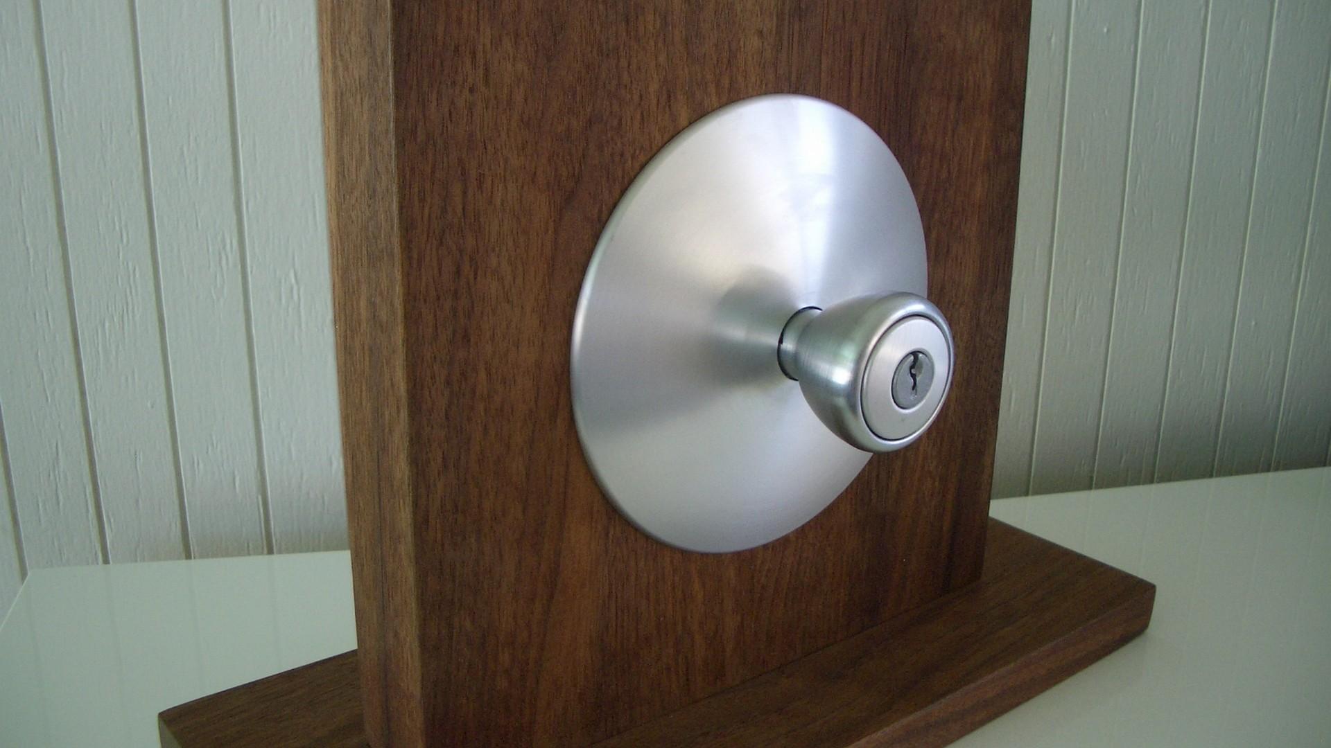 Mid century modern front doors for sale - Eichler Door Kit Escutcheon