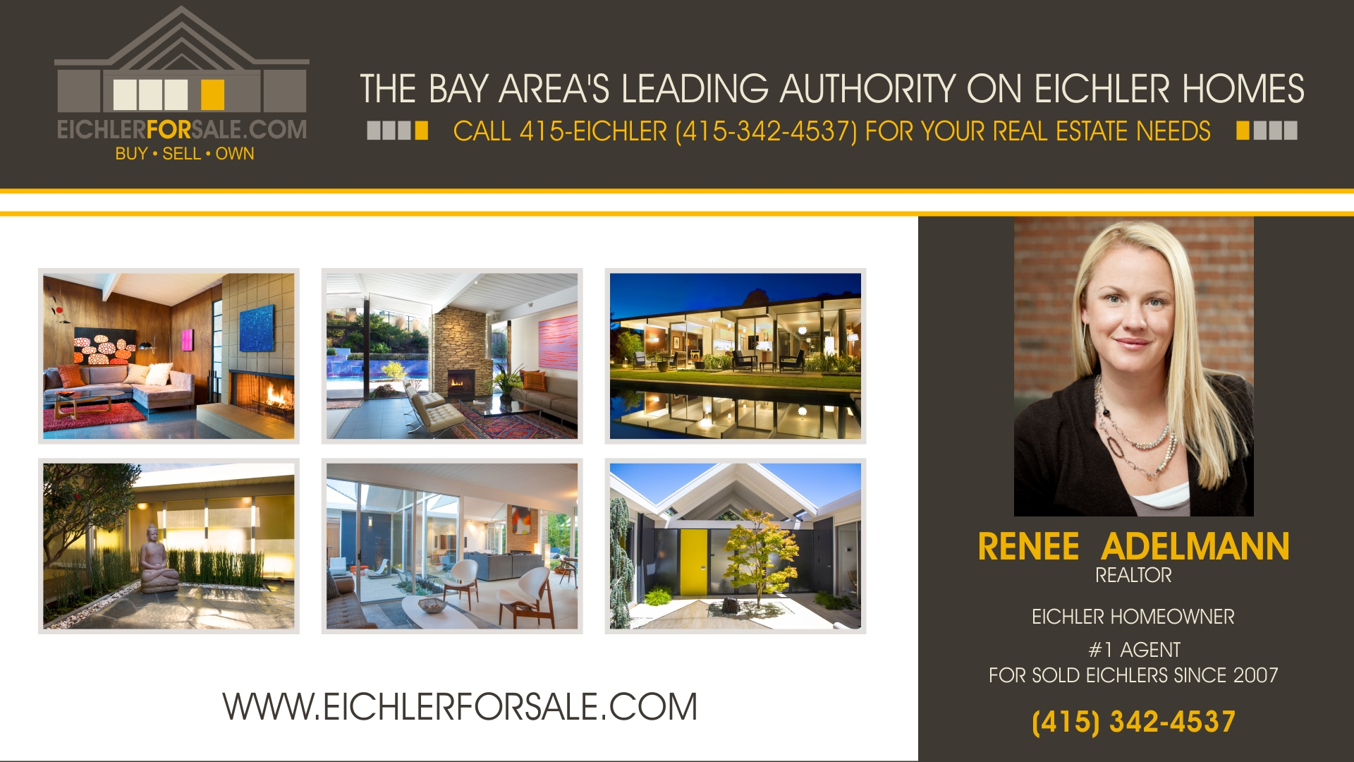 San francisco eichlers diamond heights russian hill for Eichler homes for sale bay area